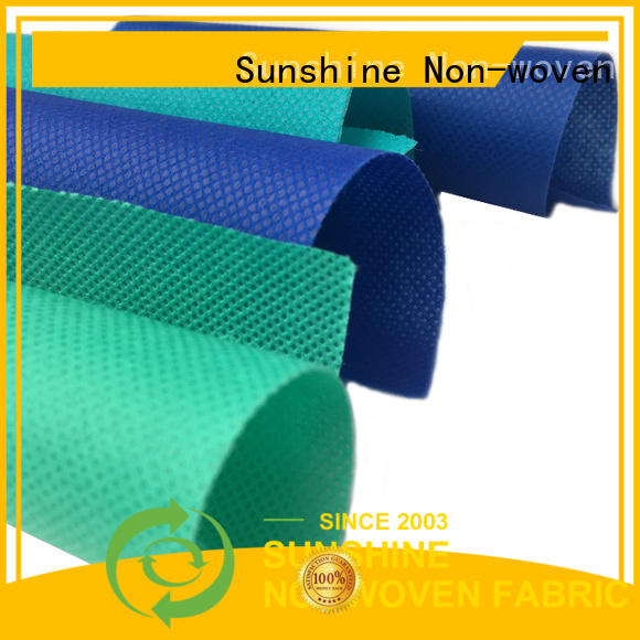 Sunshine comfortable spunbond polypropylene fabric wholesale for wrapping