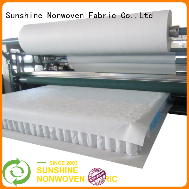 Sunshine colorful waterproof non woven fabric from China for furniture