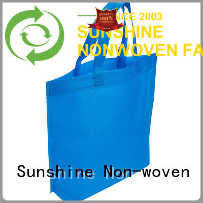 Sunshine folded nonwoven bags wholesale for bedroom