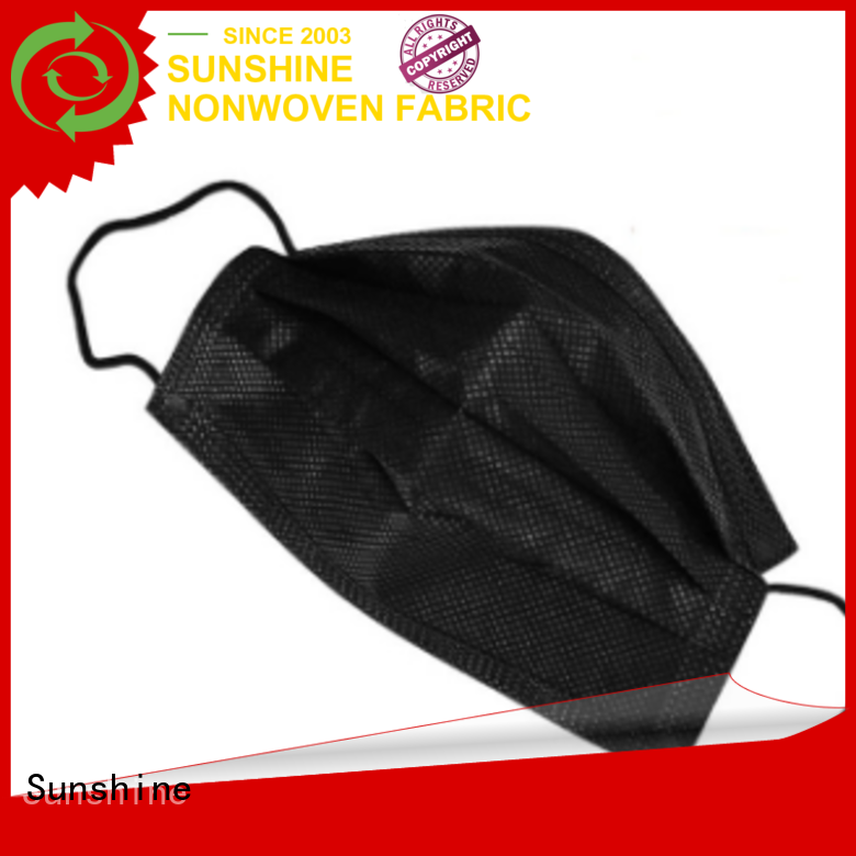 Sunshine nonwoven face mask design for medical products