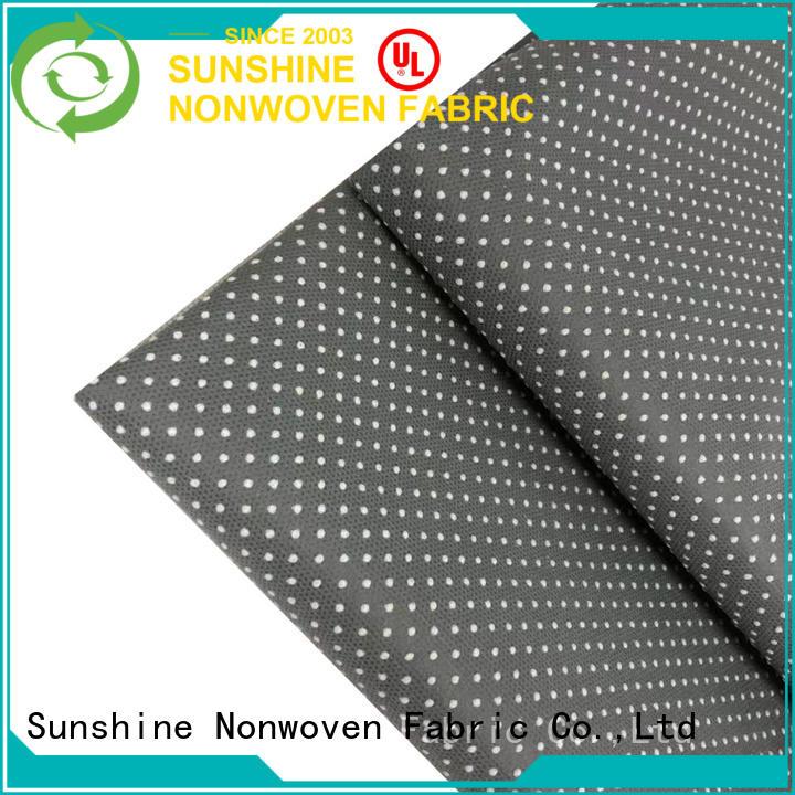 Sunshine shoesfurniture non skid fabric customized for bath room