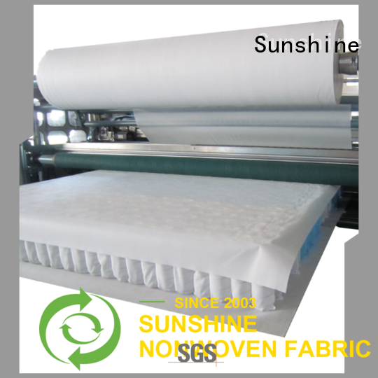 Sunshine quilting waterproof fabric factory price for furniture