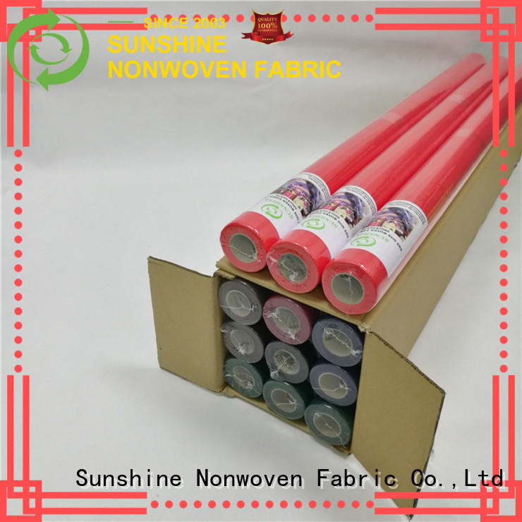 Sunshine non woven fabric tablecloth series for table