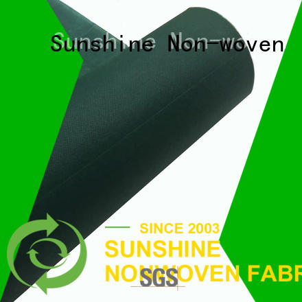 Sunshine disposable spunbond nonwoven with good price for bedroom