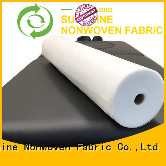 Sunshine bedsheets non woven sheet from China for bedding