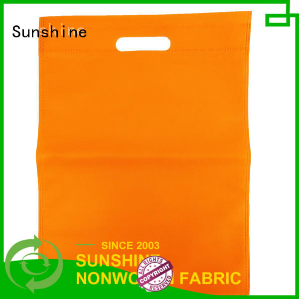 Sunshine woven nonwoven bags series for bedroom