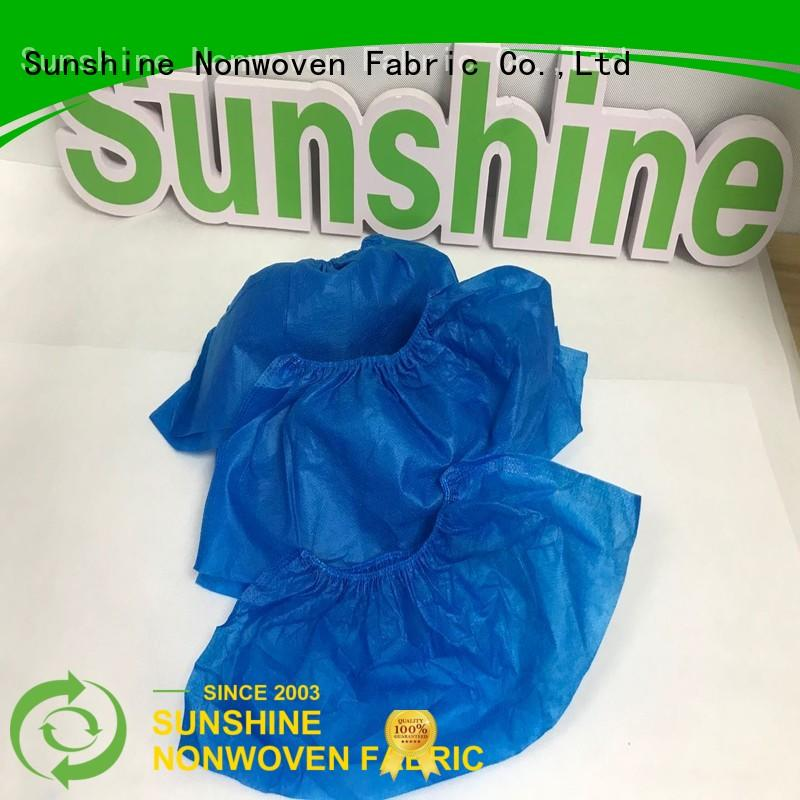 Sunshine eco-friendly disposable shoe covers inquire now for medical