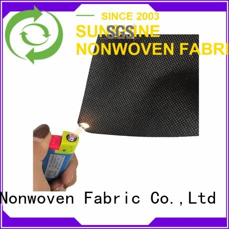 Sunshine agriculture fire retardant fabric factory price for shopping bag