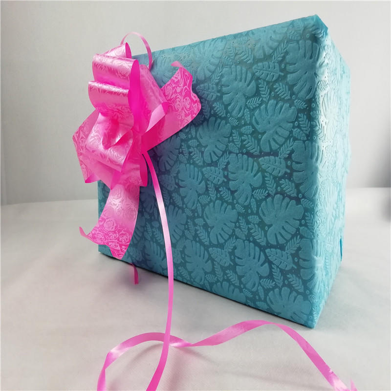 Sunshine rose non woven embossing inquire now for table-1