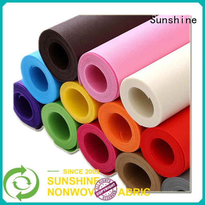Sunshine pp spunbond nonwoven fabric design for hotel