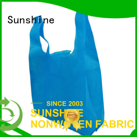 disposable non woven shopping bag bag directly sale for bedroom