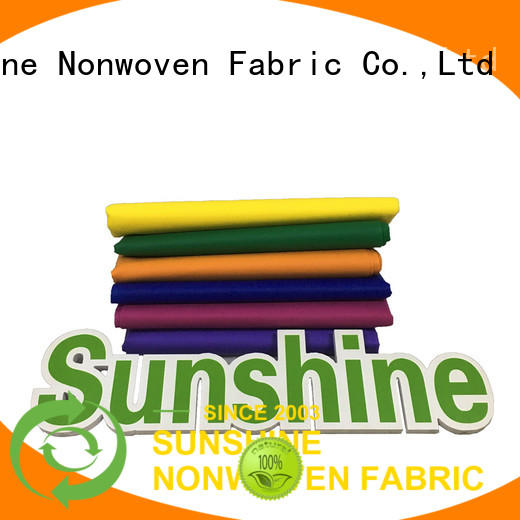 Sunshine eco-friendly pp spunbond nonwoven fabric inquire now for gifts