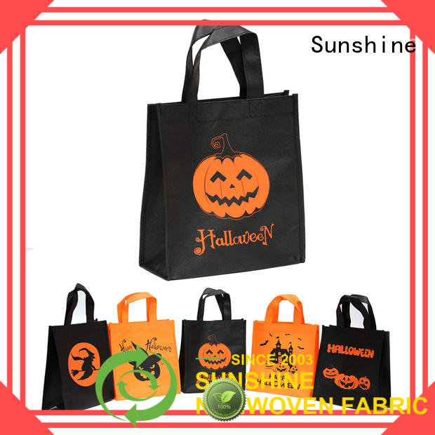 Sunshine disposable non woven shopping bag directly sale for bedroom